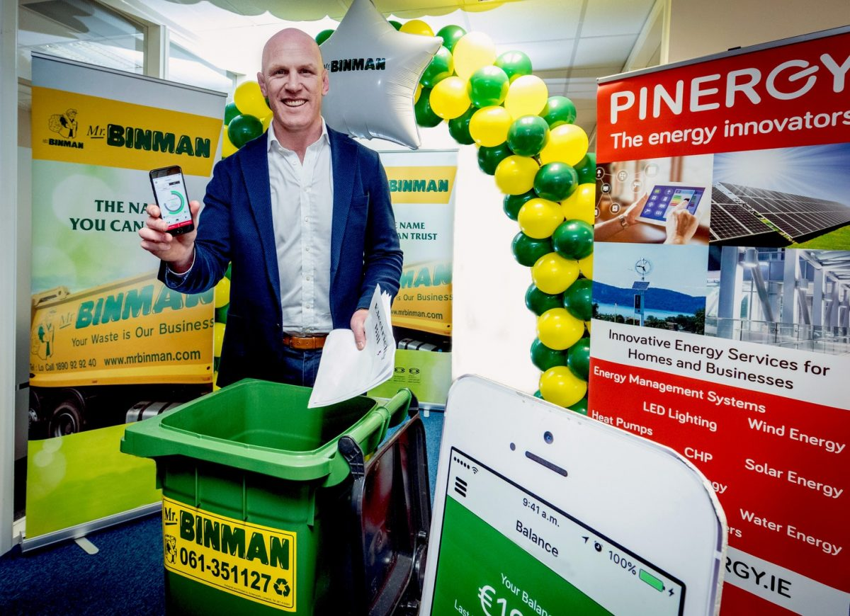 Mr. Binman teams up with Pinergy