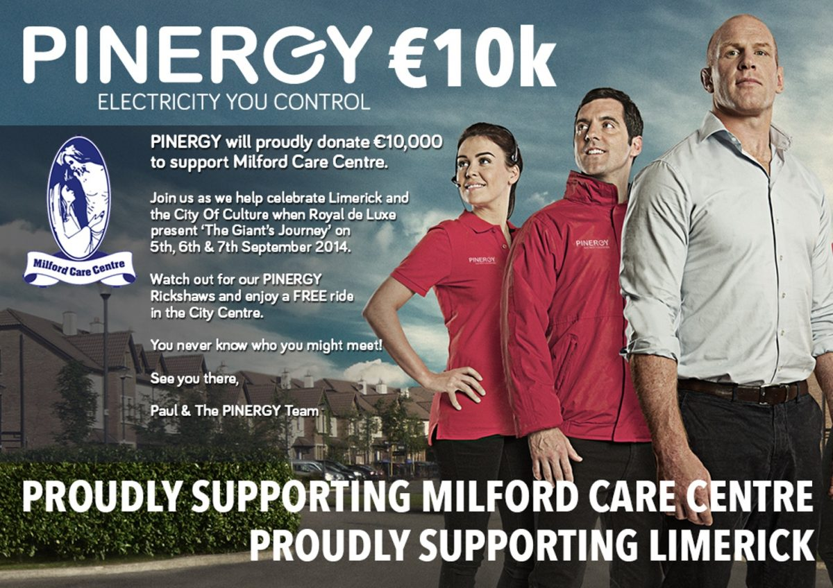 Pinergy and Milford Charity