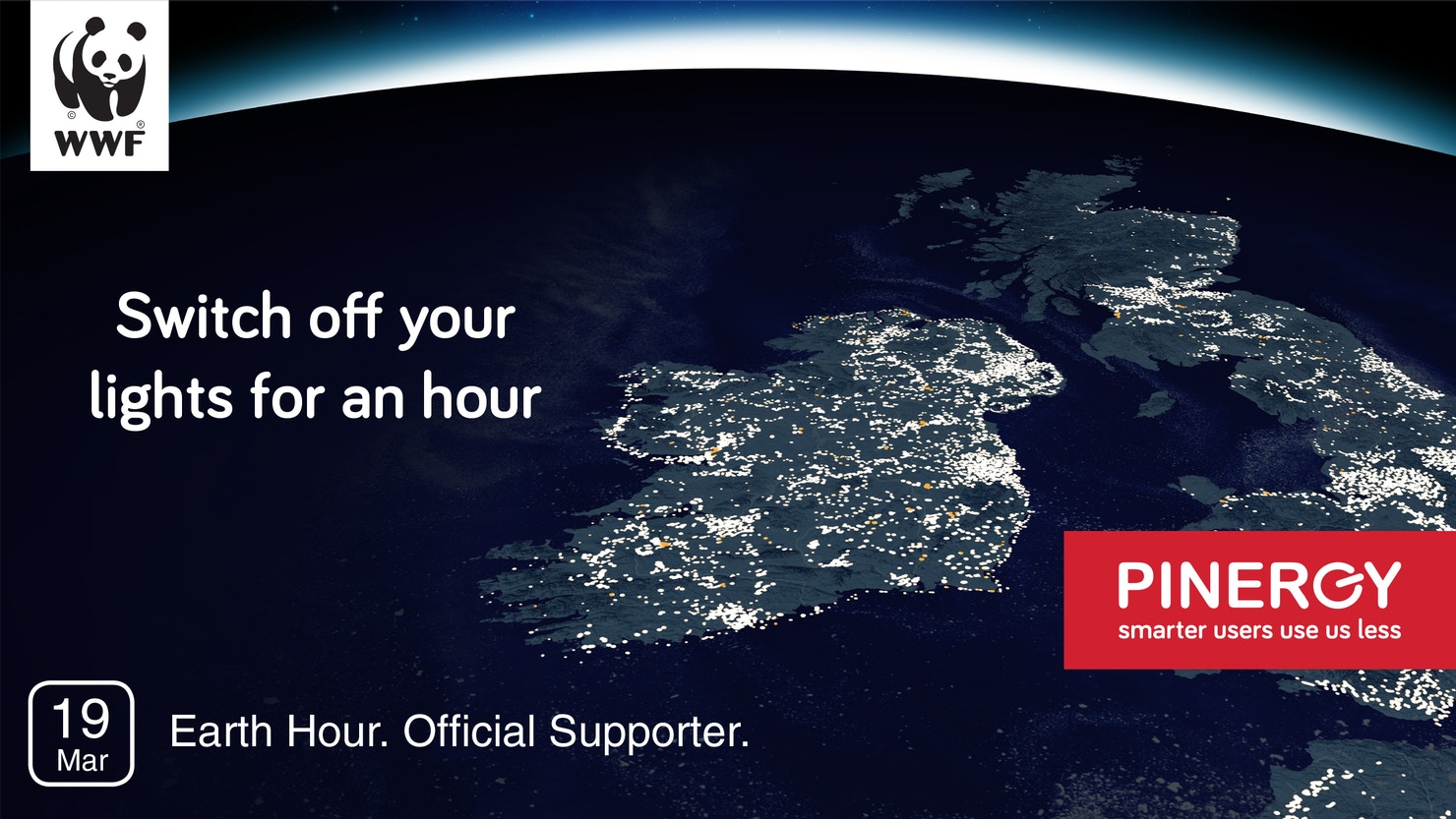 Pinergy proudly supports earth hour