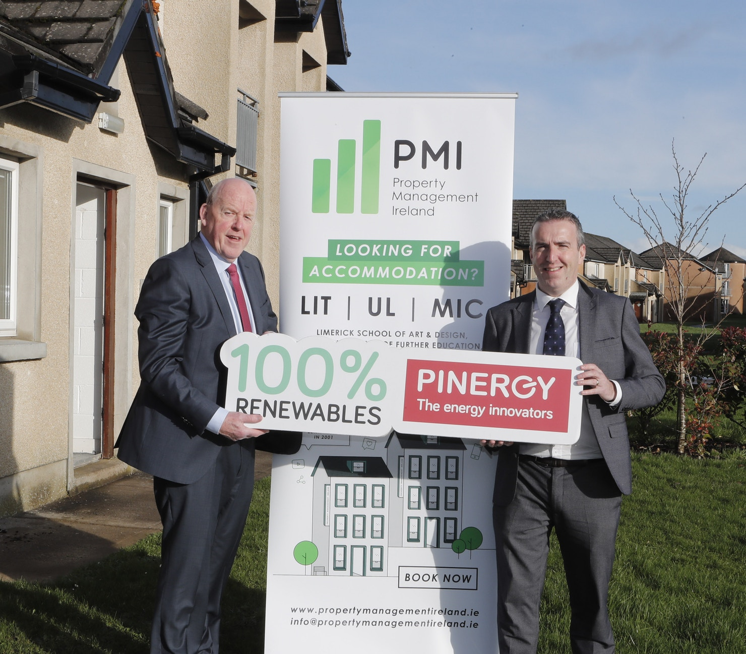 Pinergy provides sustainable solutions for Limerick students