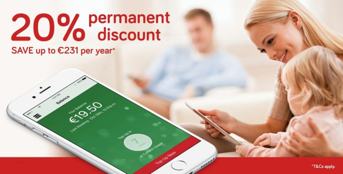 Pinergy launch 20% permanent discount Irelands cheapest payg electricity