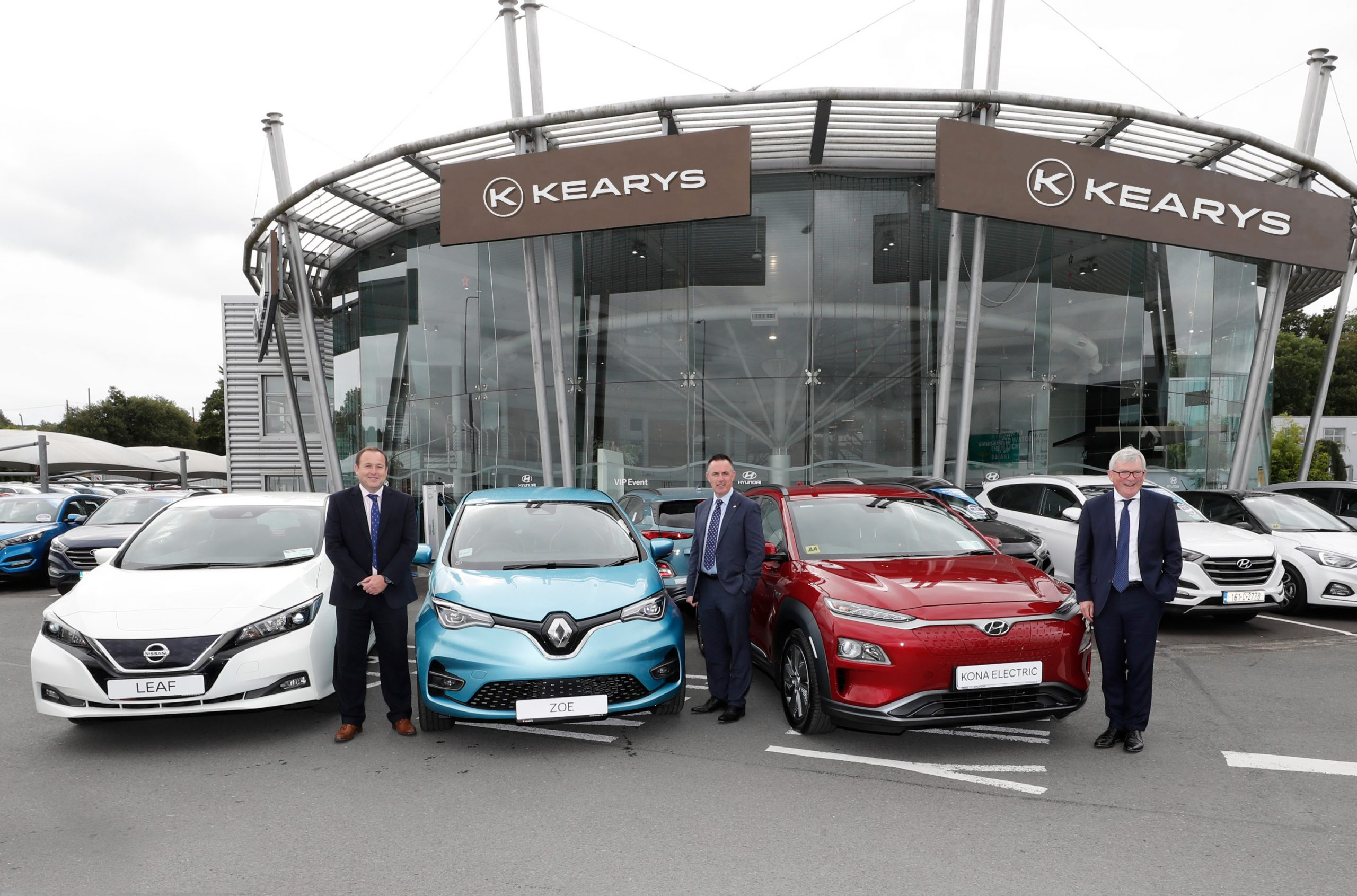 Pinergy and Kearys drive the EV charge