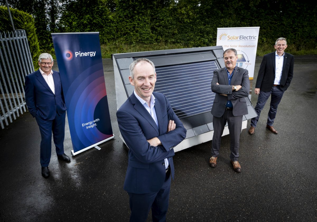 Pinergy acquires Solar Electric, Ireland's leading Solar PV business