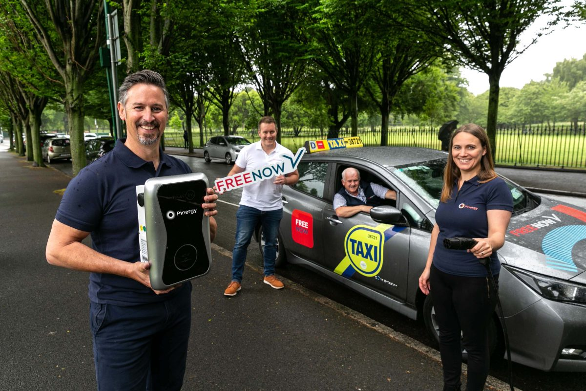 Pinergy partners with Free Now in drive to help facilitate more electric rides by 2030